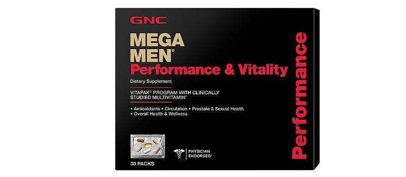 GNC Mega Men® Performance & Vitality