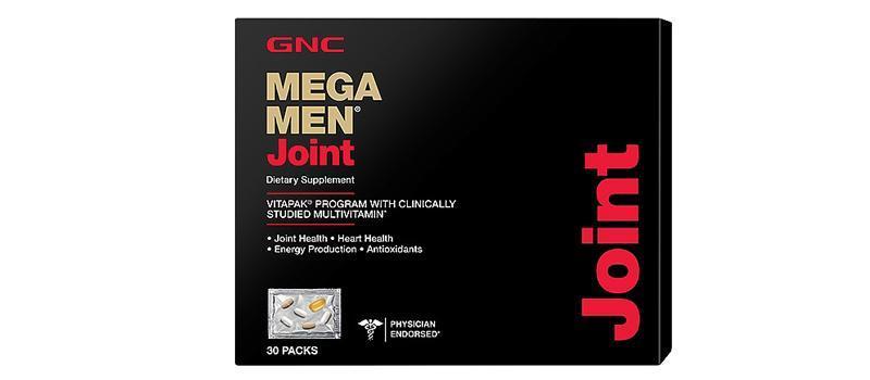 GNC Mega Men® Joint男士关节保护营养包