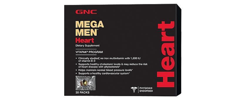 GNC Mega Men® Heart心脏保健营养包