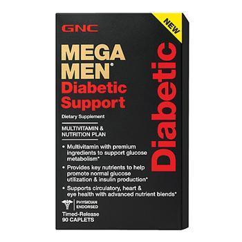 GNC Mega Men ® Diabetic Support