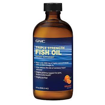 GNC Triple Strength Fish Oil – Orange
