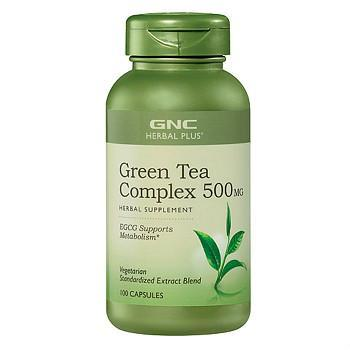 GNC Herbal Plus绿茶提取物