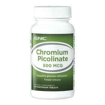 GNC Chromium Picolinate铬元素缓释片
