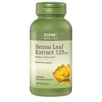 GNC Herbal Plus塞纳叶提取物