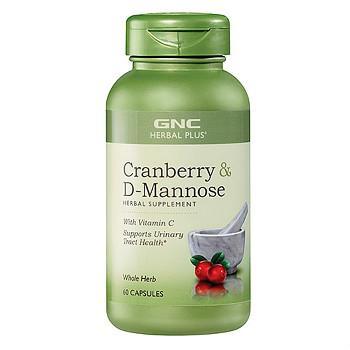 GNC Herbal Plus蔓越莓及D-甘露糖