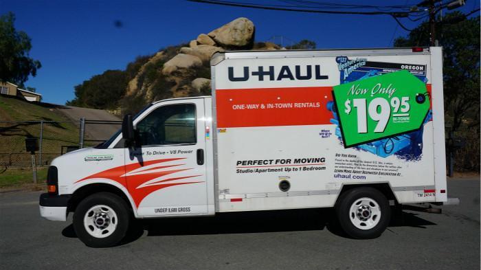 美国U-Haul搬家