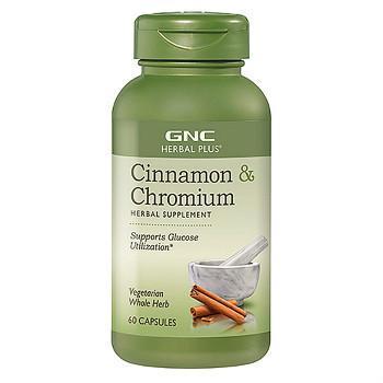 GNC Herbal Plus® Cinnamon & Chromium天然肉桂精华