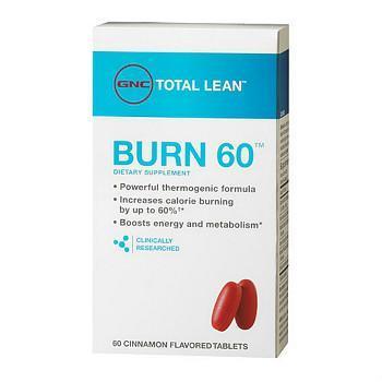 GNC Burn 60 脂肪燃烧公式