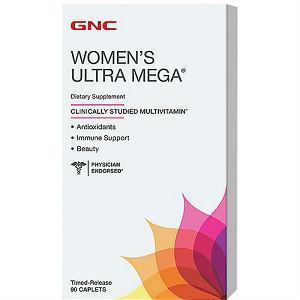 GNC Women's Ultra Mega®女性复合维生素