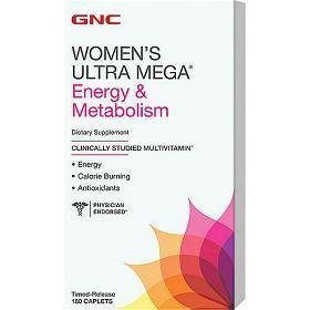 GNC Women's Ultra Mega®能量与代谢款
