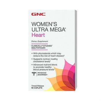 GNC Women's Ultra Mega® Heart心脏配方