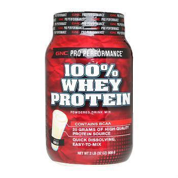 GNC Pro Performance® 100% Whey Protein