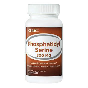 GNC磷脂酰丝氨酸300mg