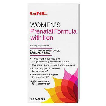 GNC孕期配方+铁