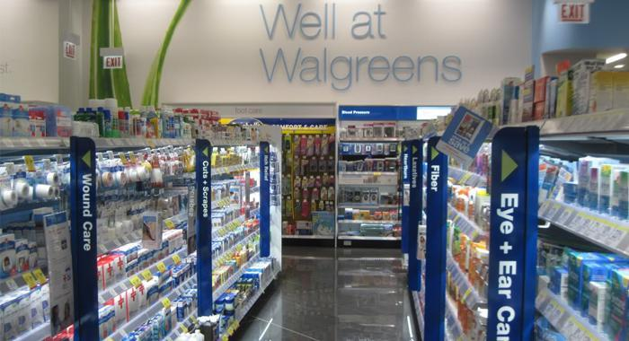 沃尔格林商店内部