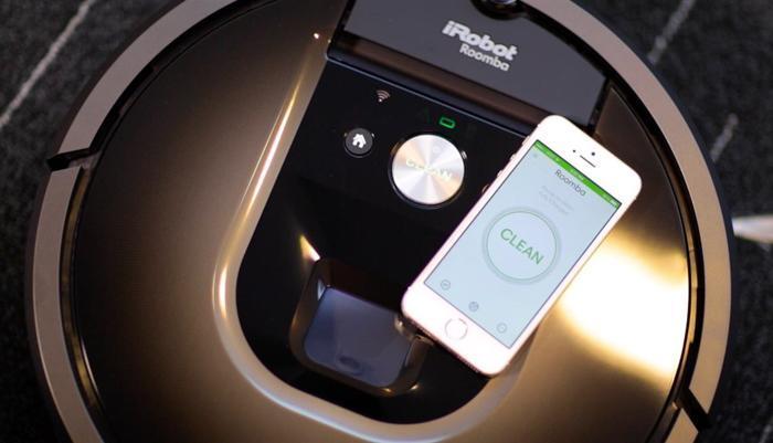 Irobot Roomba 980手机操作方便