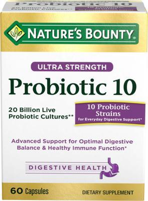 Nature's bounty Ultra Strength Probiotic自然之宝强效益生菌