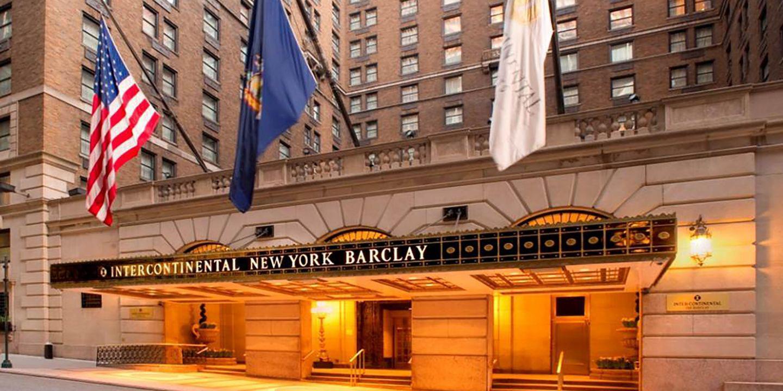 美国洲际酒店联名卡
