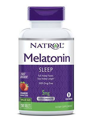 Natrol Melatonin褪黑素助眠片