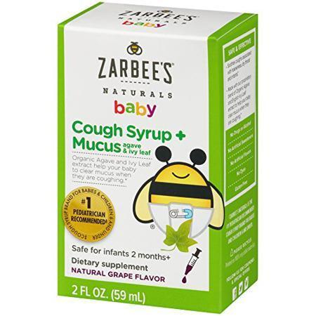 Zarbee's Naturals婴儿止咳糖浆