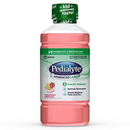 国最畅销的电解质补液盐是Pedialyte