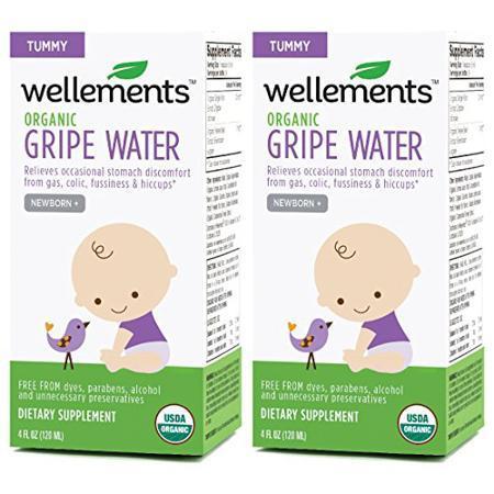 Wellements婴儿有机防胀气水