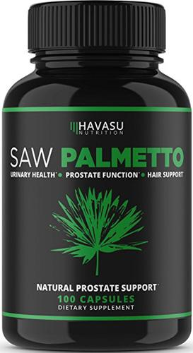 Extra Strength Saw Palmetto Supplement & Prostate Health