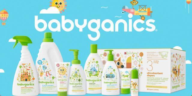 Babyganics,最适合婴幼儿用的美国有机护肤品牌