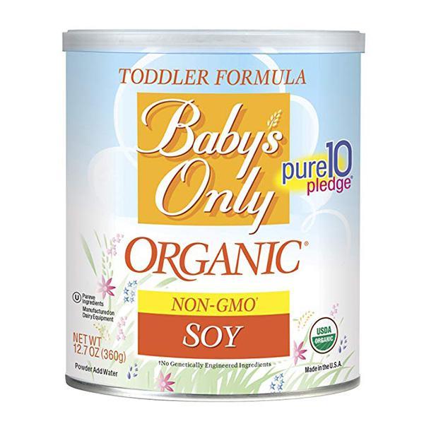 贝欧莱有机无乳糖豆奶粉