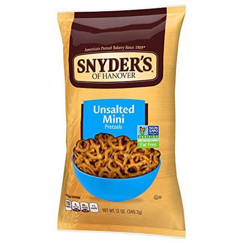 Snyder's 迷你椒盐脆饼干