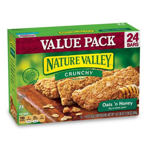 Nature Valley 燕麦棒
